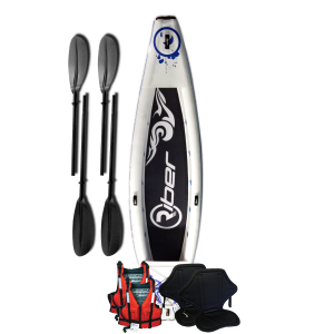 Riber 420 Inflatable Kayak Starter Pack